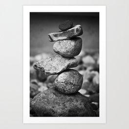 subconscious equilibrium Art Print