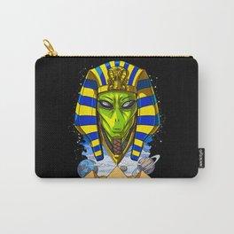 Alien Egyptian Pharaoh Tutankhamun Ancient Conspiracy Carry-All Pouch
