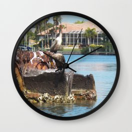 Birds in Florida Wall Clock