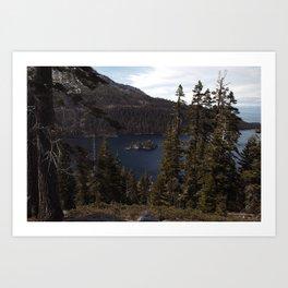 Emerald Bay   Lake Tahoe, CA Art Print