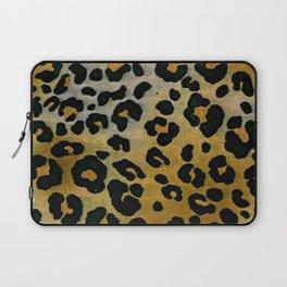 Cheetah Animal Pattern Print Laptop Sleeve