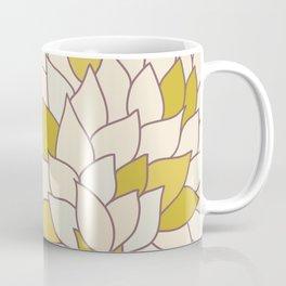 heart made of leaves Coffee Mug