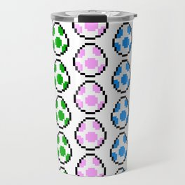 Yoshi Rainbow Eggs Travel Mug