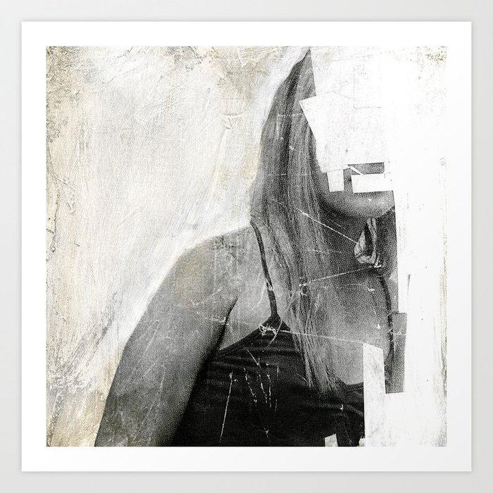 Faceless   number 03 Art Print