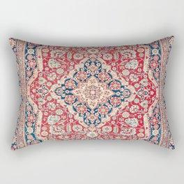 Mohtashem Kashan Central Persian Rug Print Rectangular Pillow