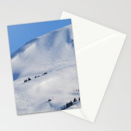 Back-Country Skiing  - III Stationery Cards