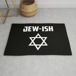 Jew-ish funny quote Rug