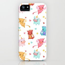 Mythical Creatures iPhone Case