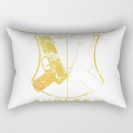 Croft arms  tr1 titl Rectangular Pillow