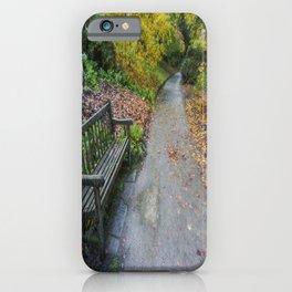 Fall Walks iPhone Case