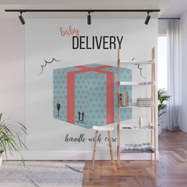 Baby delivery Wall Mural