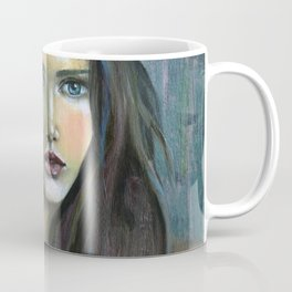 Adolphine Wolf Woman Original Coffee Mug