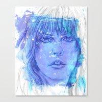 stevie nicks Canvas Prints featuring Stevie Nicks by Tara Kostick