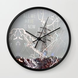 This is My Power by Debbie Porter Wall Clock