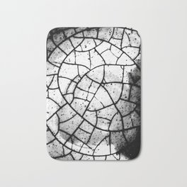 Crackled texture Bath Mat