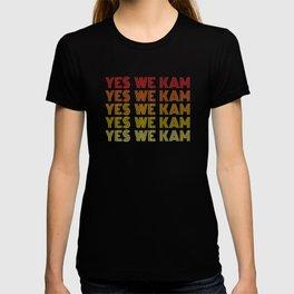 Yes We Kam Kamala Harris Biden Harris T-shirt