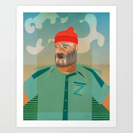 Steve Z. Art Print