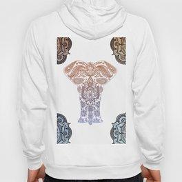 Decorative Elephant Hoody