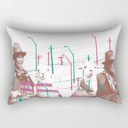 Bolivian girls Rectangular Pillow