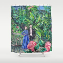 greenhouse Shower Curtain