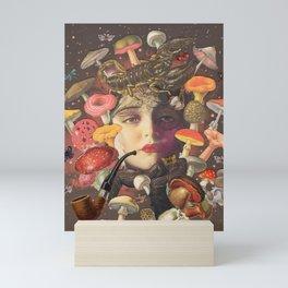 Mushroom Head Mini Art Print