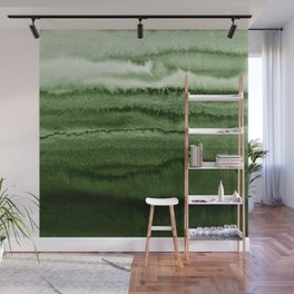 WITHIN THE TIDES FOREST GREEN by Monika Strigel Wall Mural