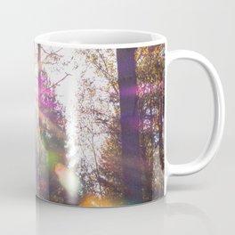 Golden Rainbow Lights Forest (Color) Coffee Mug