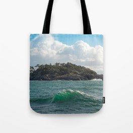 PORTRAIT OF SECRETARY ISLAND, BC TROPICS 2K16 Tote Bag