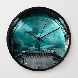 AquaStation - Julien Tabet - Photoshop Artwork Wall Clock