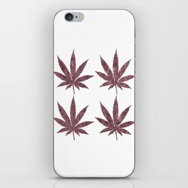 Cannabis Rainbow Design (5) iPhone Skin