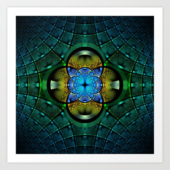 Seeking Zen Art Print