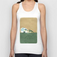 avatar the last airbender Tank Tops featuring Avatar Korra by daniel