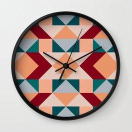 Geometric 10 Wall Clock