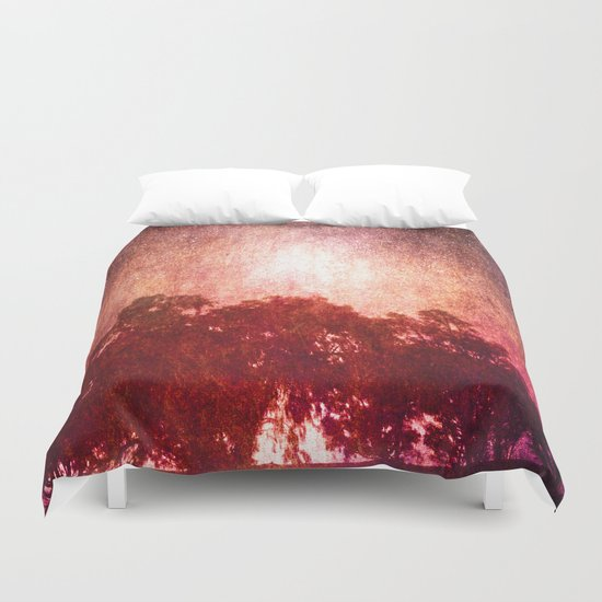 Waves of Light Duvet Cover