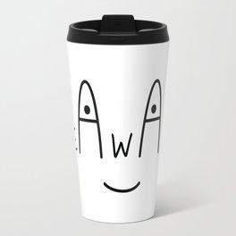 Be Aware Travel Mug