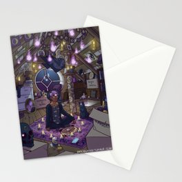 Modern Male Witch: Attic Stationery Cards