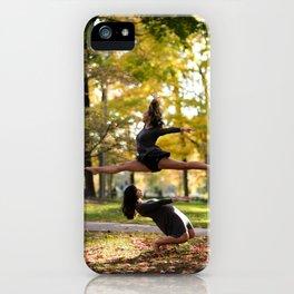 Chloe Leaps iPhone Case