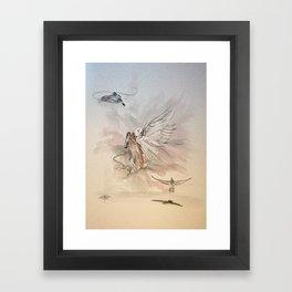 Carrier Pigeons Framed Art Print
