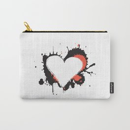 I Heart Live Art Carry-All Pouch