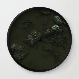 Day 0961 /// Muddy surface Wall Clock