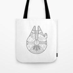 Millenium Falcon. Tote Bag