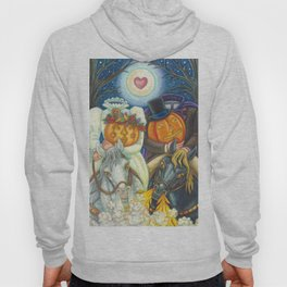 SLEEPY HOLLOW WEDDING - Brack Headless Horseman Halloween Art Hoody