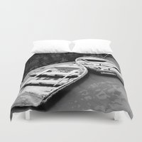 boats Duvet Covers featuring Boats by Vishal Wadhwani