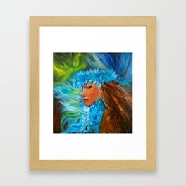 Hula Dancer 11 Framed Art Print