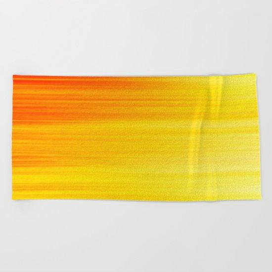 SUMMER SONNET Beach Towel