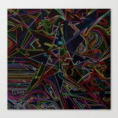 mixing Color star  Canvas Print