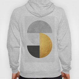 Golden Geometric Art VII Hoody