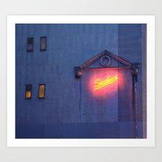 Sachas Hotel Art Print