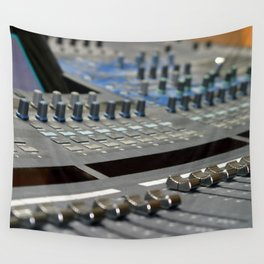 Mixing Console Wall Tapestry