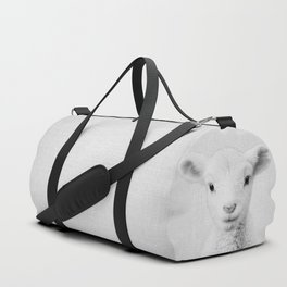 Lamb - Black & White Duffle Bag
